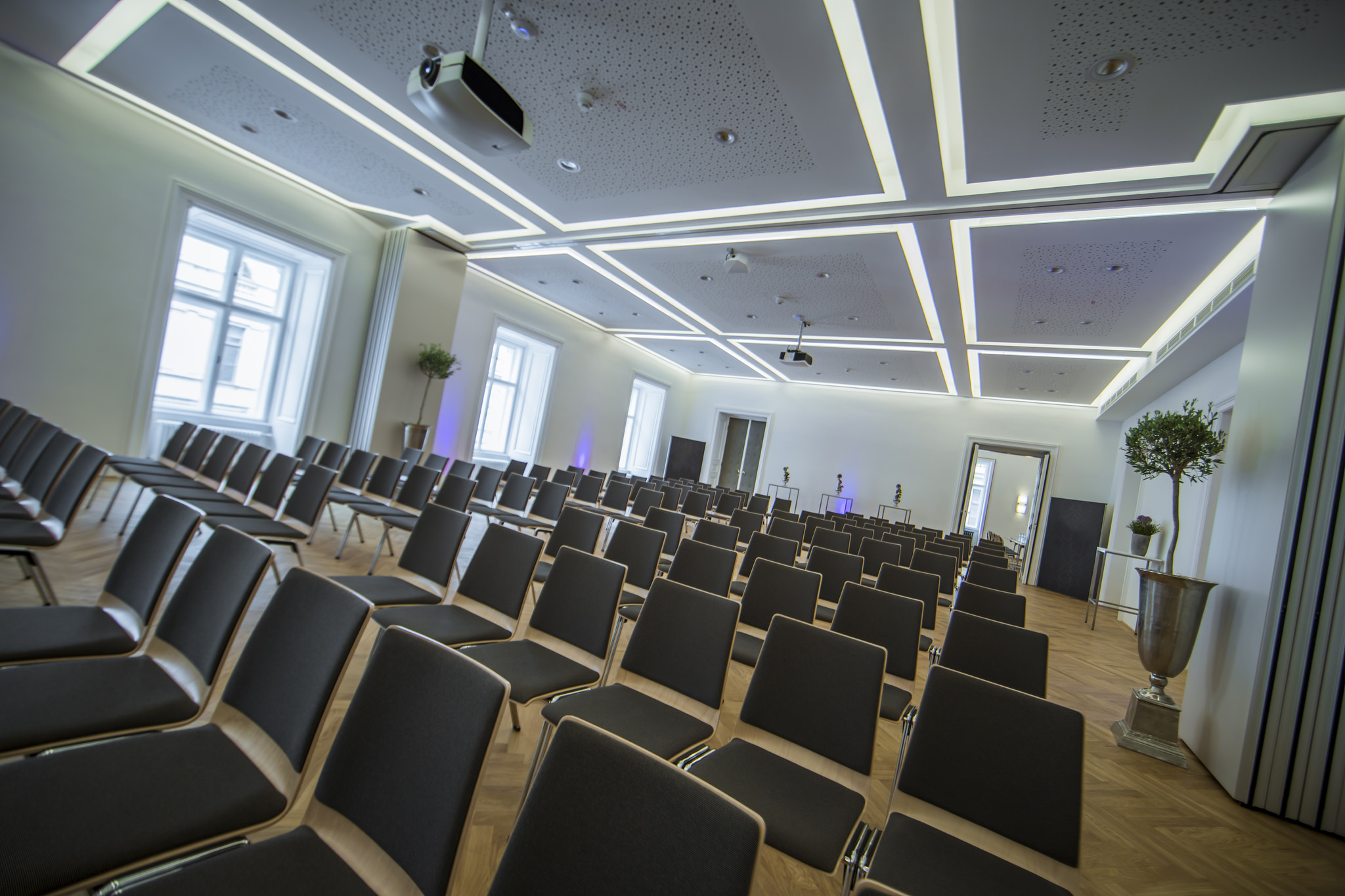 Genügend Raum für die Konferenz