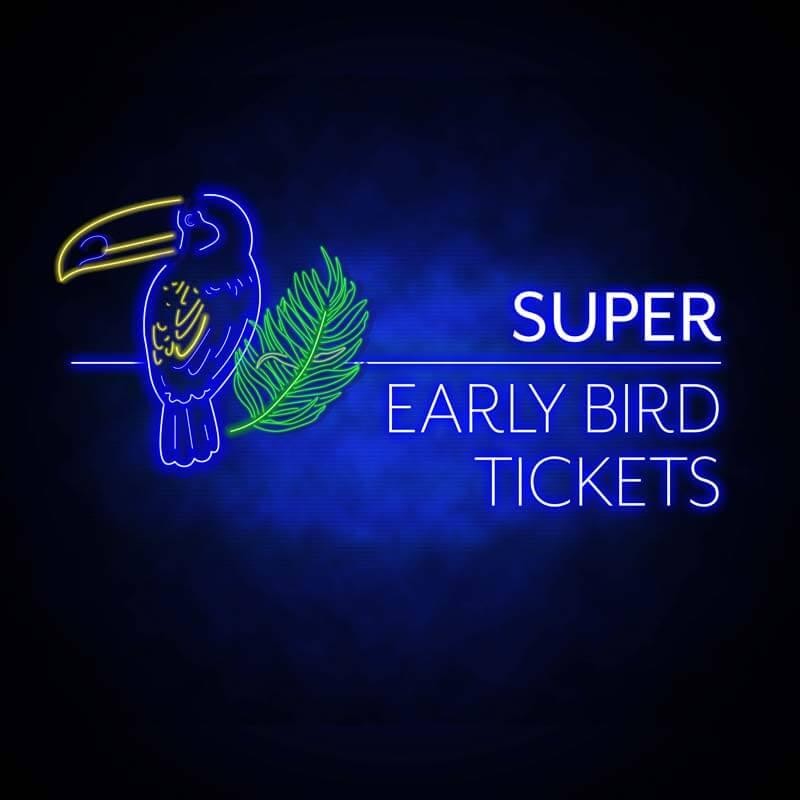 Super Early Bird Ticket