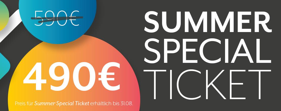 Summer Special Ticket