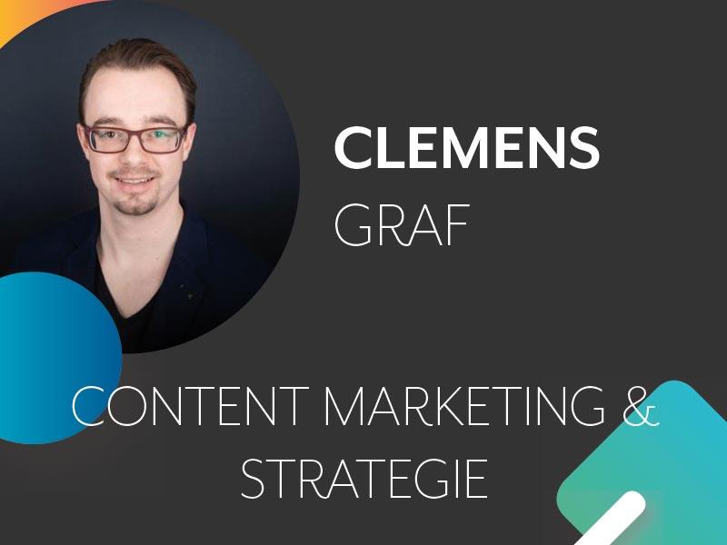 Clemens Graf Profil und Thema auf der Konferenz