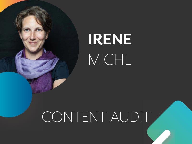 Irene Michl Profil und Thema auf der Konferenz