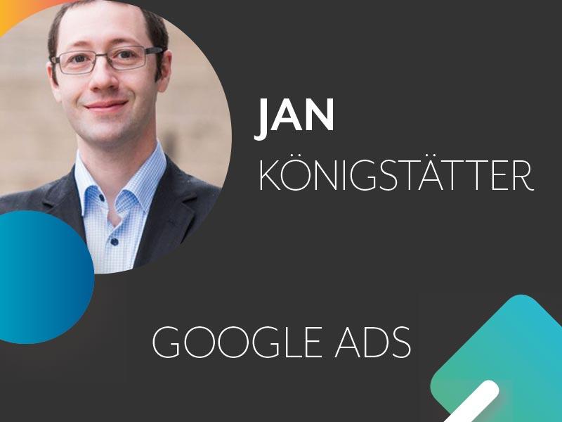Jan Königstätter Profil und Thema auf der Konferenz