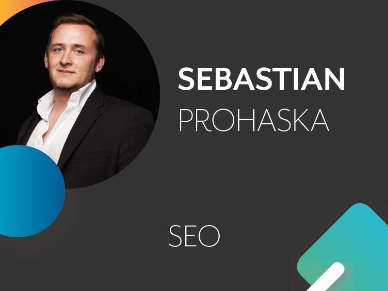 Sebastian Prohaska Profil und Thema auf der Konferenz