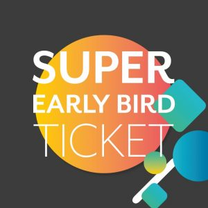 Super Early Bird Ticket - MaCon 2019